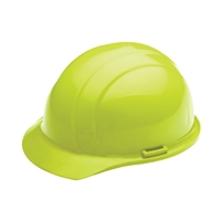 Hard Hat - 4-Point Suspension - Hi Vis Lime