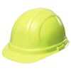 Hard Hat - 6-Point Suspension with Ratchet - Hi Vis Lime