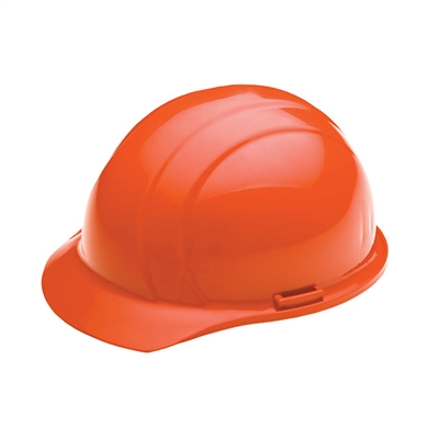 Hard Hat - 4-Point Suspension - Hi Vis Orange