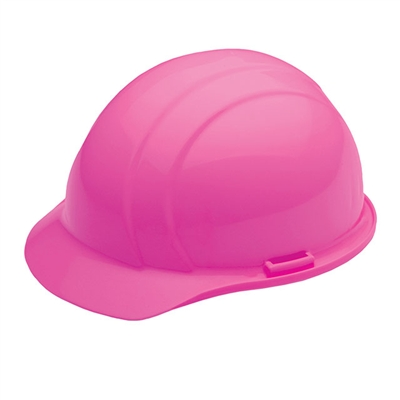Hard Hat 4 Point Suspension Hi Visability Pink