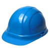 Hard Hat 6 Point Suspension with Ratchet Blue