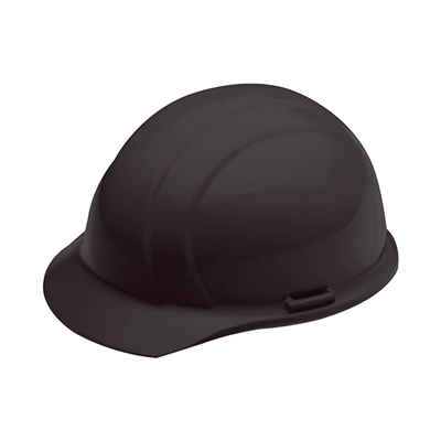 Hard Hat 4 Point Suspension Black