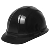 Hard Hat - 6-Point Suspension with Ratchet - Black