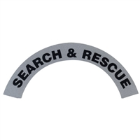 Reflective Search & Rescue Helmet Rocker