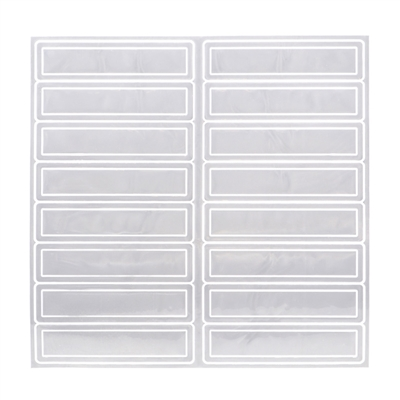 Reflective Adhesive Strips - White