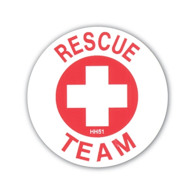 Hard Hat Emblem - Rescue Team