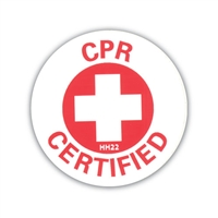 Hard Hat Emblem - CPR Certified