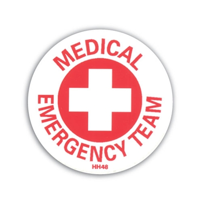 Hard Hat Emblem - Medical Team