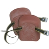 Flat Bottom Rubber Knee Pads
