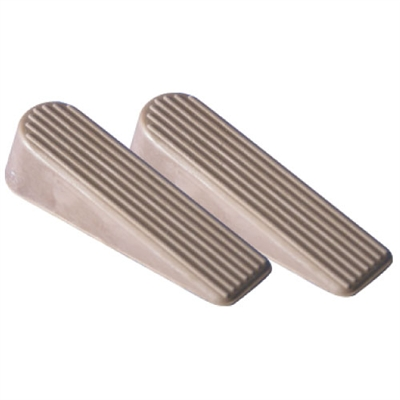 Rubber Door Wedges - 2-Pack