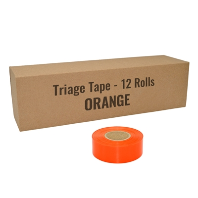 Flagging Tape - Orange - 12-Pack