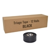 Triage Tape Black 12-Pack