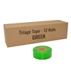 Triage Tape - Green - 12-Pack