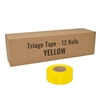 Triage Tape - Yellow - 12-Pack