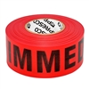 Triage Tape IMMEDIATE Red