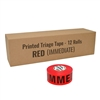 triage tape immediate red 12 pack