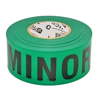 Triage Tape MINOR Green 300 ft