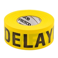 Triage Tape DELAYED Yellow 300 ft