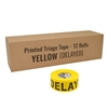 Triage Tape DELAYED Yellow - 12-Pack