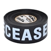 Triage Tape DECEASED Black