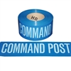 Command Post Tape - 1,000' - Blue