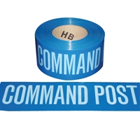 Barricade Tape COMMAND POST - 1000'