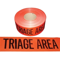 Barricade Tape TRIAGE AREA - 1000'