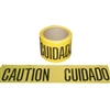 Barricade Tape 300 Ft. Yellow Caution/Cuidado