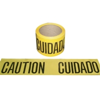 Barricade Tape CUIDADO / CAUTION - 300'