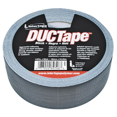 Duct Tape - Black - 60 Yd