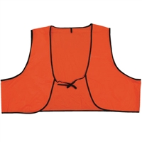 Plastic Safety Vest - Hi-Vis Orange