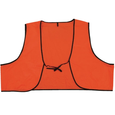 Vinyl Safety Vest - Hi Vis Orange