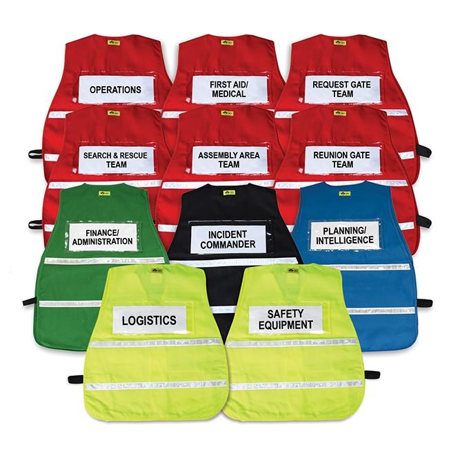 Stripes Vest Set Of Reflective Ics 11 School With D9YWEHIbe2