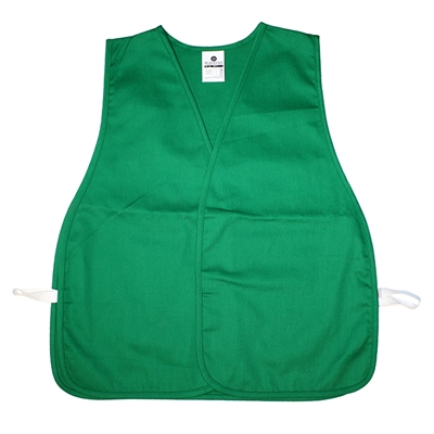 Cloth Safety Vest - Green - XL
