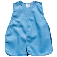 cloth safety vest light blue