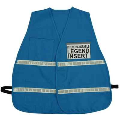 Incident Command Vest with Stripes - Blue