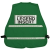 Incident Command Vest with Stripes - Green