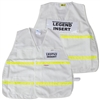 Incident Command Vest with Stripes - White