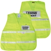 Incident Command Vest with Stripes - Yellow