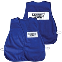 ICS Cloth Safety Vest - Royal Blue