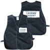ICS Cloth Safety Vest - Black