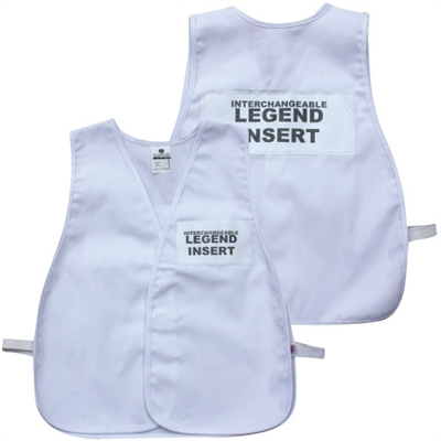 ICS Cloth Safety Vest - White