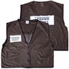 ICS Deluxe Mesh Vest - Brown