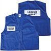 Deluxe ICS Cloth Safety Vest - Royal Blue