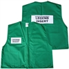 Deluxe ICS Cloth Safety Vest - Green