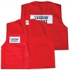 Deluxe ICS Cloth Safety Vest - Red