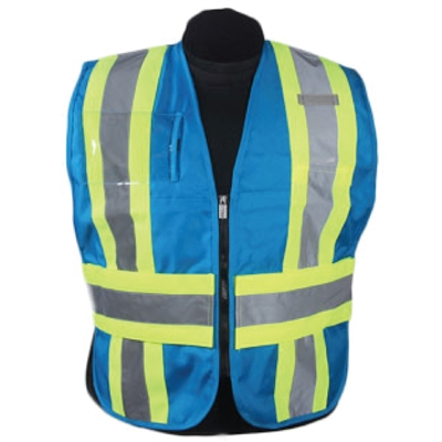 ICS Deluxe Vest with Stripes - Blue