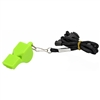 Plastic Safety Whistle with Lanyard