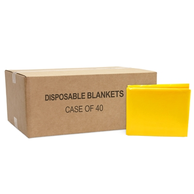 Disposable Emergency Blankets - 40/case