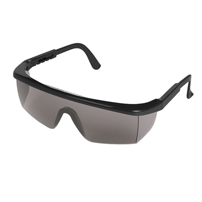Adjustable Safety Glasses - Gray Tint